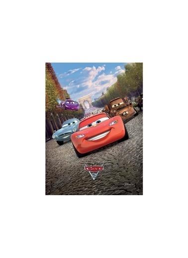 Disney Cars-1 50x70 cm Kanvas Tablo Renkli
